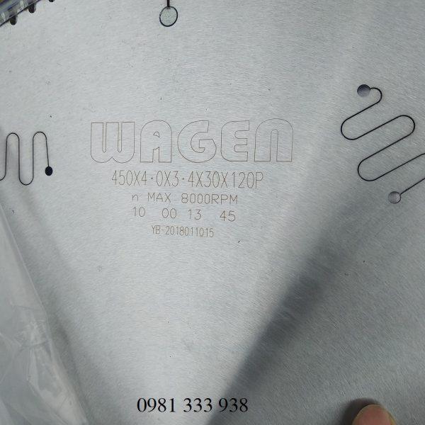 lưỡi cắt nhôm d450 wagen 3