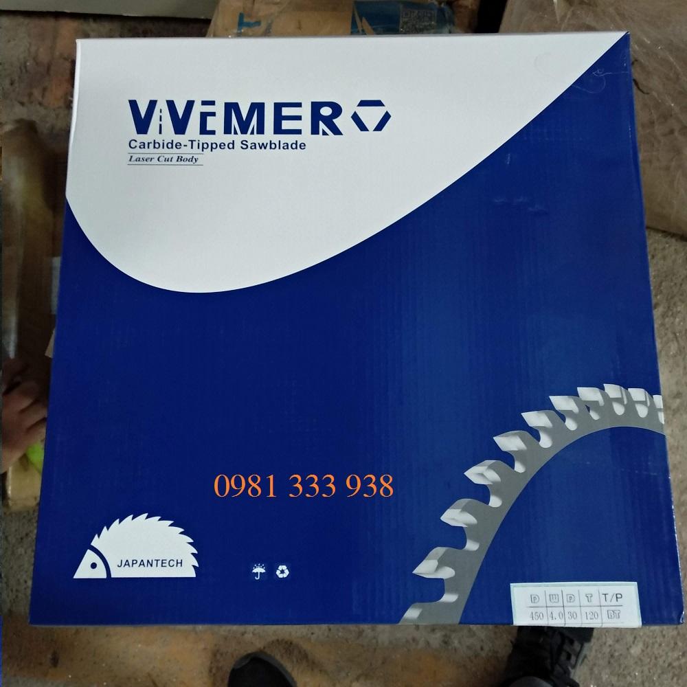 lưỡi cắt nhôm d450 wemero